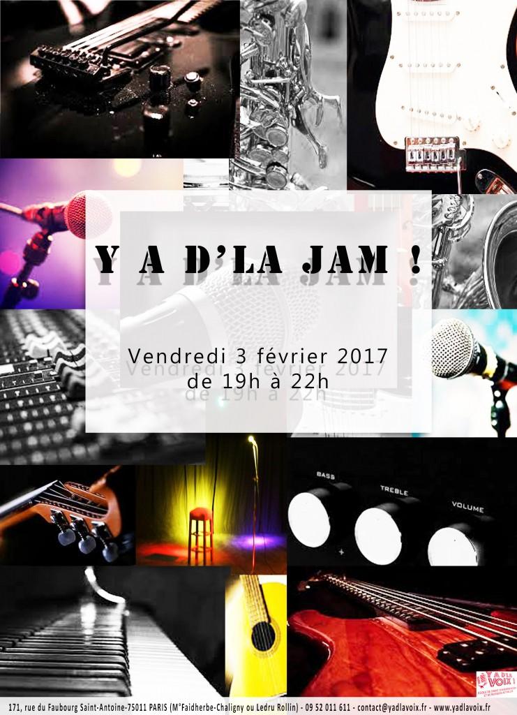 Affiche Jam, 3février2017